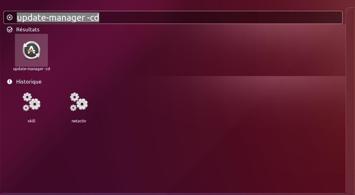 Update Manager CD Ubuntu