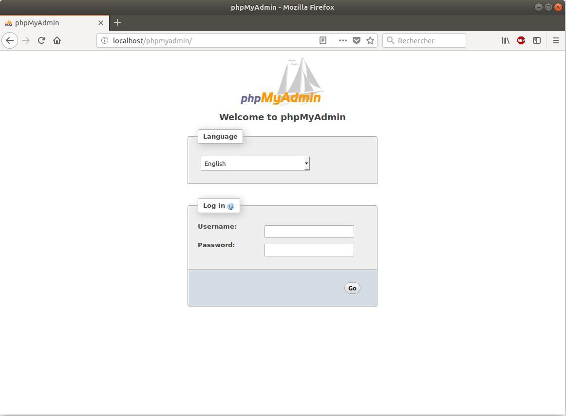 PhpMyAdmin Ubuntu 18.04