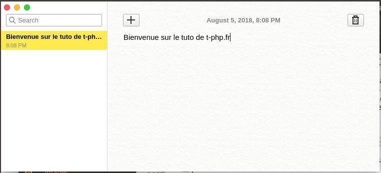 Logiciel Notes Ubuntu 16.04, 17.01 et 18.04
