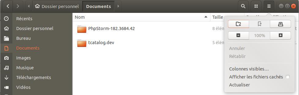 Fichiers cachés sur Ubuntu