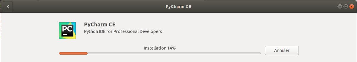 Installer PyCharm sur Ubuntu 18.04