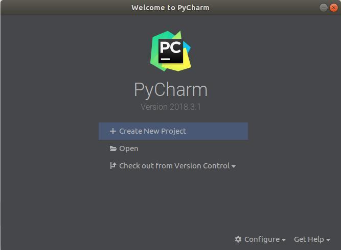 PyCharm Installé sur Ubuntu 18