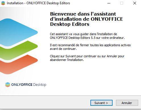 Installation OnlyOffice Windows