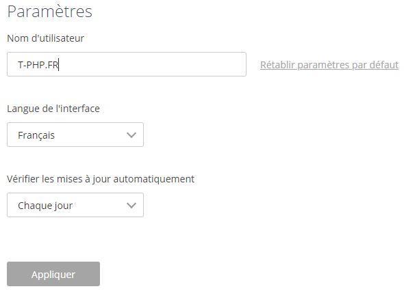 Paramètres OnlyOffice Desktop