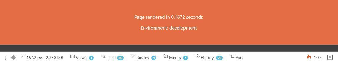 Environnement Development CodeIgniter 4