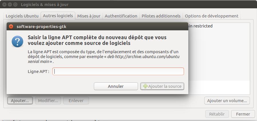 Ajouter PPA Nvidia Ubuntu