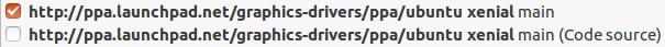 PPA Ubuntu Graphics Drivers Nvidia