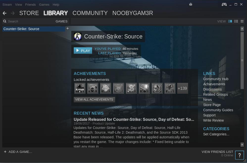Counter Strike Steam Ubuntu