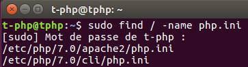 Connaître sa version de PHP sous Ubuntu