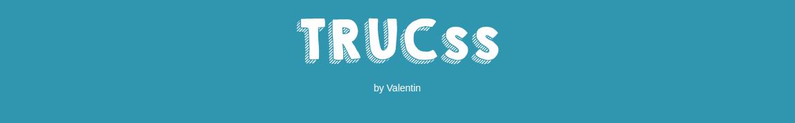 Trucss Framework CSS